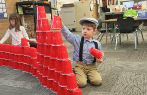 100th Day Fun in Kindergarten