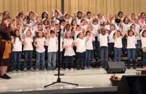 1st & 2nd Grade Music Program