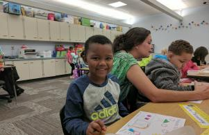 Happy for the 1st Day of Kindergarten (8/24/17)