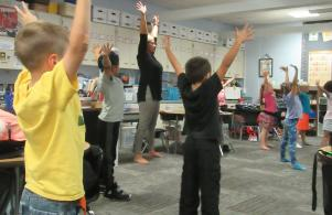 Yoga in First Grade