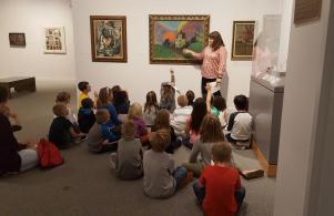 2nd Grade Field Trip to Snite Art Museum